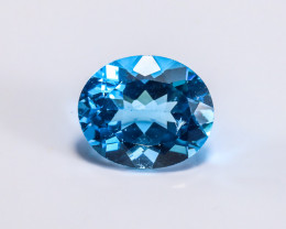 5.67ct. Lab Certified Natural Blue Topaz