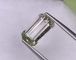 2.29 Cts Beige Color Afghanistan Fine Quality Natural Tourmaline