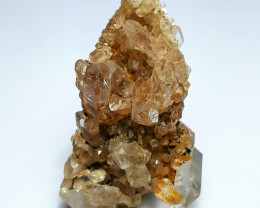 Amazing Natural color Damage free Lovely Quartz Cluster 65Cts-P
