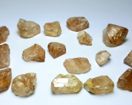 Amazing Natural color Gemmy quality Crystals type Topaz lot 250Cts-B#3