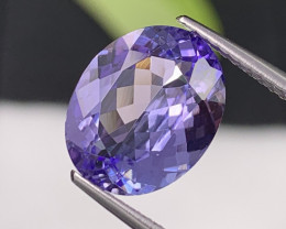 4.50 Cts Top Quality Natural Tanzanite Fine Luster VVS