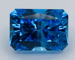39.74ct  swiss blue Topaz loupe clean with fine cutting  Gemstone