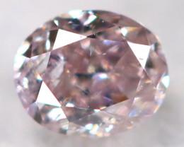 Purplish Pink Diamond 0.10Ct Natural Untreated Fancy Diamond BM0724