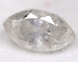Salt and Pepper Diamond 0.26Ct Natural Untreated Fancy Diamond BM0730