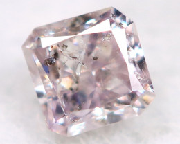 Purplish Pink Diamond 2.1mm  Natural Untreated Fancy Diamond BM0739