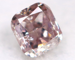 Purplish Pink Diamond 0.11Ct Natural Untreated Fancy Diamond BM0740