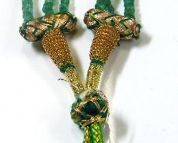 Columbian Beautiful Emerald Necklace 156 Cts St 372