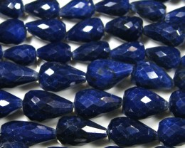SAPPHIRE   BEAD NECKLACE BRIGHT FLASH 910 CARATS ST 420