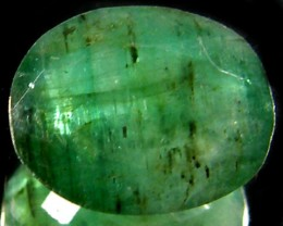 ZAMBIAN   NATURAL  OVAL  EMERALD  2.2  CTS  ST 449