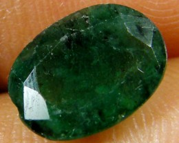 ZAMBIAN   NATURAL  OVAL  EMERALD   2.00 CTS  ST 450