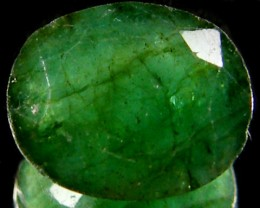 ZAMBIAN   NATURAL  OVAL  EMERALD  2.55  CTS  ST 457