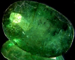 ZAMBIAN   NATURAL  OVAL  EMERALD    2.7CTS  ST 458