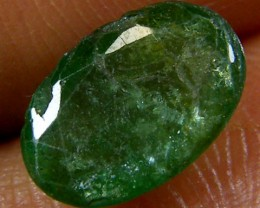 ZAMBIAN   NATURAL  OVAL  EMERALD   1.35 CTS  ST 460
