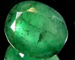 ZAMBIAN   NATURAL  OVAL  EMERALD  2.55  CTS  ST 463