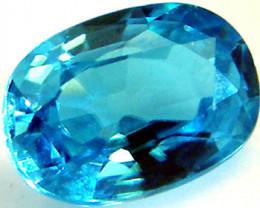 [SG] ZIRCON BLUE STONE  1.0 CTS 4[S4503]