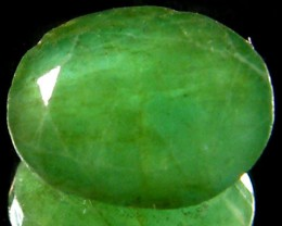 ZAMBIAN   NATURAL  OVAL  EMERALD   1.95 CTS  ST 470