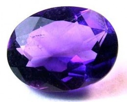 AMETHYST FACETED STONE 0.95 CTS CG - 84