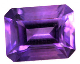 2.10 CTS  AMETHYST FACETED STONE  CG 274