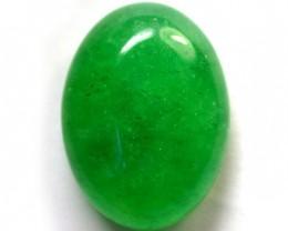 Quartz Emerald Green colour   17.10  carats   QU 217