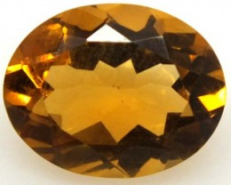 CITRINE FACETED NATURAL STONE 2.10 CTS  TBG-1683