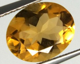 CITRINE FACETED  NATURAL  STONE 2.20 CTS TBG-1688