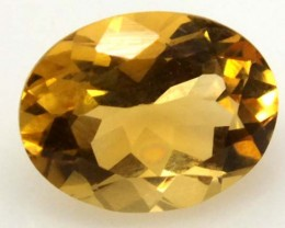 CITRINE FACETED  NATURAL STONE 2.20 CTS  TBG-1685