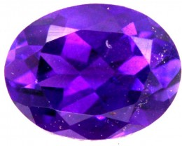 1.10 CTS  AMETHYST FACETED STONE CG - 290