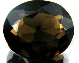 LARGE SMOKEY GREY FACETED TOPAZ 15.45  CTS  ST 536