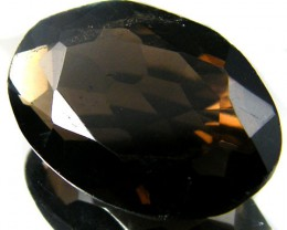 LARGE SMOKEY GREY FACETED TOPAZ 15.70  CTS  ST 544