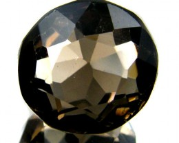 LARGE SMOKEY GREY FACETED TOPAZ  14.05 CTS  ST 556