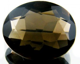LARGE SMOKEY GREY FACETED TOPAZ 15.80  CTS  ST 565