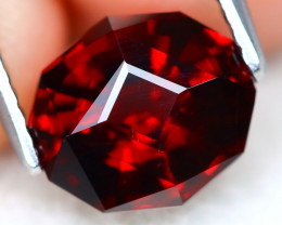 Almandine 2.61Ct VVS Master Cut Natural Almandine Garnet AT0557