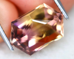 Ametrine 4.86Ct VVS Master Cut Natural Bolivian BiColor Ametrine AT0567