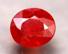 Sapphire 2.57Ct Natural Reddish Orange Sapphire D3103/B38