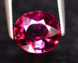 Rhodolite 2.18Ct Natural VVS Purplish Red Rhodolite Garnet DF3120/A5