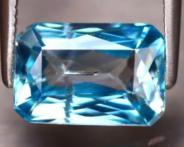 Blue Zircon 3.35Ct Natural Cambodian Blue Zircon DF3123/A31