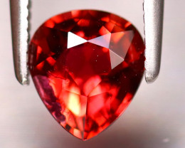Tourmaline 1.10Ct Natural Reddish Orange Tourmaline DF3128/B19