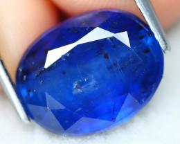 Kyanite 6.49Ct Oval Cut Natural Himalayan Royal Blue Color Kyanite C3003