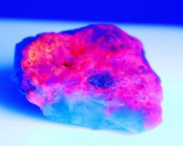NR!! 133.00 CT Natural - Unheated UV Light Color Change Hackmanite Specimen
