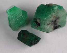 Lot of Colombian Emerald Mina Muzo 20.56ct