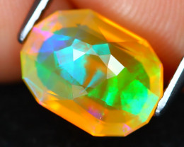 Welo Opal 1.96Ct Master Cut Natural Ethiopian Play Of Color Welo Opal B3013