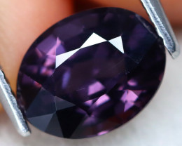 Purple Spinel 2.29Ct VVS Oval Cut Natural Purple Spinel B3014