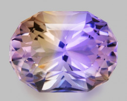 6.64 CT BOLIVIAN AMETRINE TOP CLASS LUSTER GEMSTONE AM7