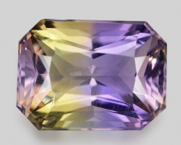 4.10 CT BOLIVIAN AMETRINE TOP CLASS LUSTER GEMSTONE AM13