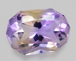 5.57 CT BOLIVIAN AMETRINE TOP CLASS LUSTER GEMSTONE AM23