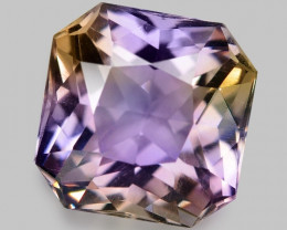 3.66 CT BOLIVIAN AMETRINE TOP CLASS LUSTER GEMSTONE AM30