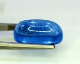 Aquamarine, 13.45 Carats Top Quality Blue Aquamarine Cabochon