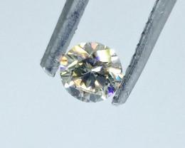 0.30ct  H - SI2 Diamond , 100% Natural Untreated