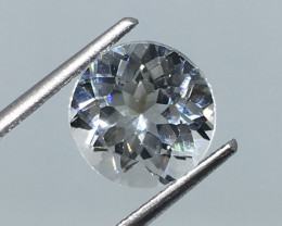 2.35 Carat VVS Topaz Precision Cut and Polished Brilliant !