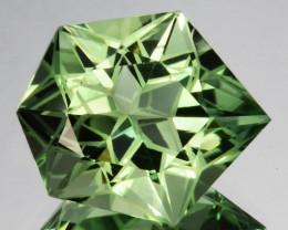~CUSTOM CUT~ 10.65 Cts Natural Prasiolite / Amethyst Fancy Cut Brazil